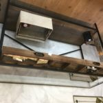 Console con cassetto e divisori