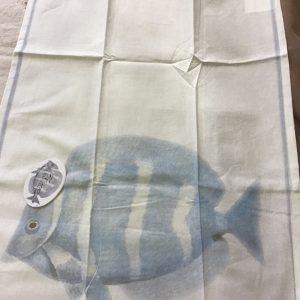 Canovaccio con pesci ,Blanc Mariclò