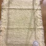 Tappeto con FRILLS 50×80 Blanc Mariclò