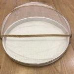 Vassoio con zanzariera in bambù medio , j-line