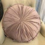 cuscino tondo rosa Le Chic
